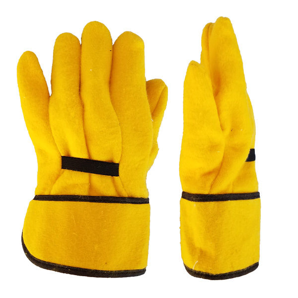 PIEDMONT 16SCT 16 oz Golden Chore Glove With Safety Cuff