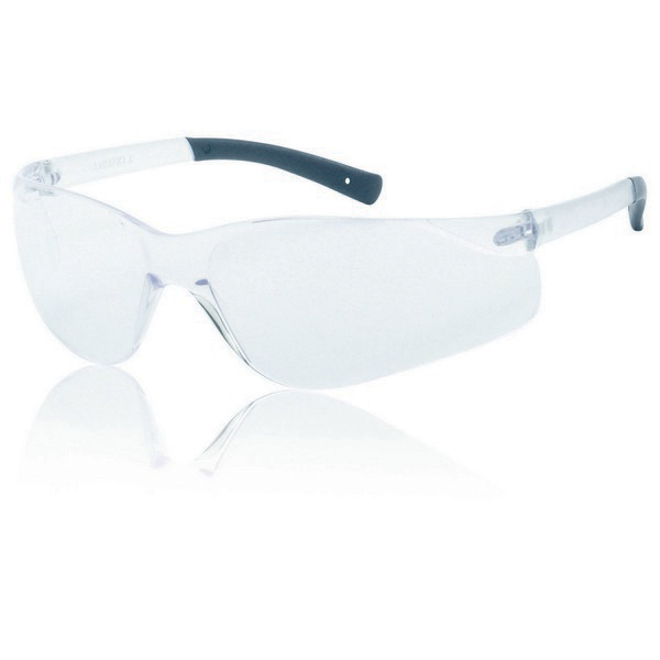 Clear Lens With Clear Frame Safety Glasses