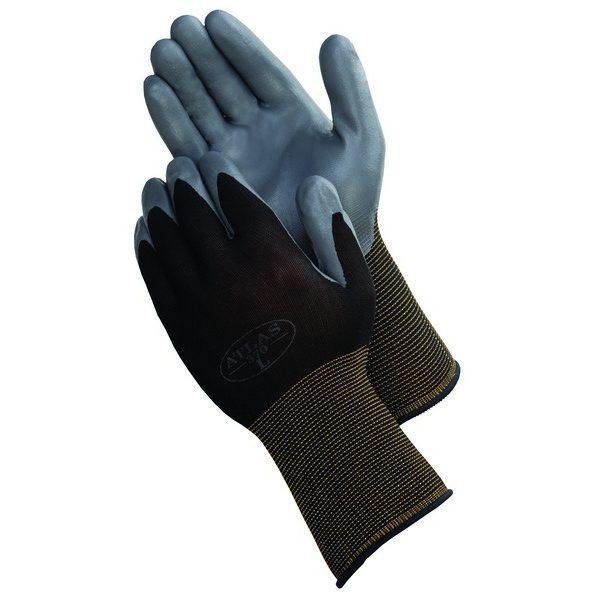 SHOWA ATLAS 370BK Nitrile Palm Coated Gloves