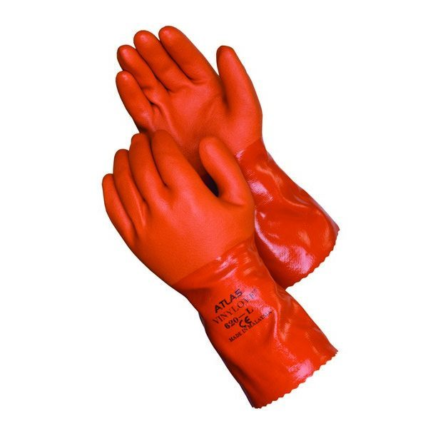 SHOWA ATLAS 620 VINYLOVE Double-Dipped PVC Coated Gloves