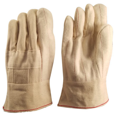 PIEDMONT HM18BKS 18 oz Hot Mill Nap-Out Glove with Knuckle Strap