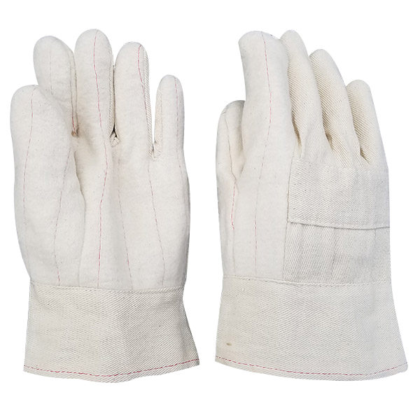 PIEDMONT HM32KS 32 oz Hot Mill Nap-Out Glove With Knuckle Strap