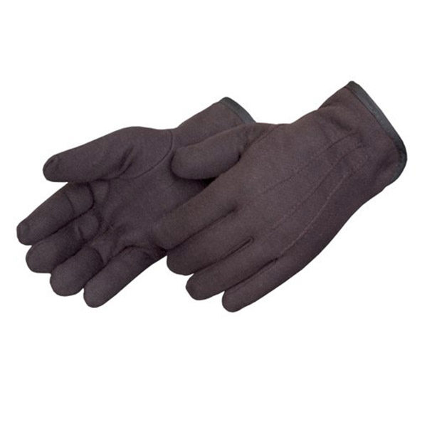 PIEDMONT J13 Red Lined Brown Jersey Glove