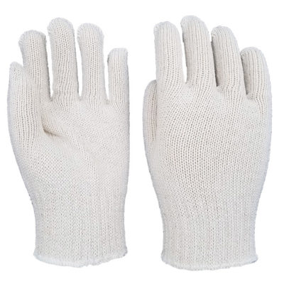 PIEDMONT K335 Medium Weight Seamless Knit Natural Cotton Glove