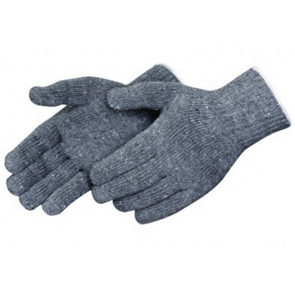 PIEDMONT KG326 Medium Weight Seamless Knit Grey Cotton Glove